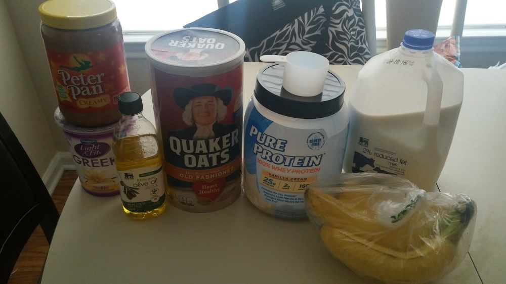Running out of whey protein and oats !!!